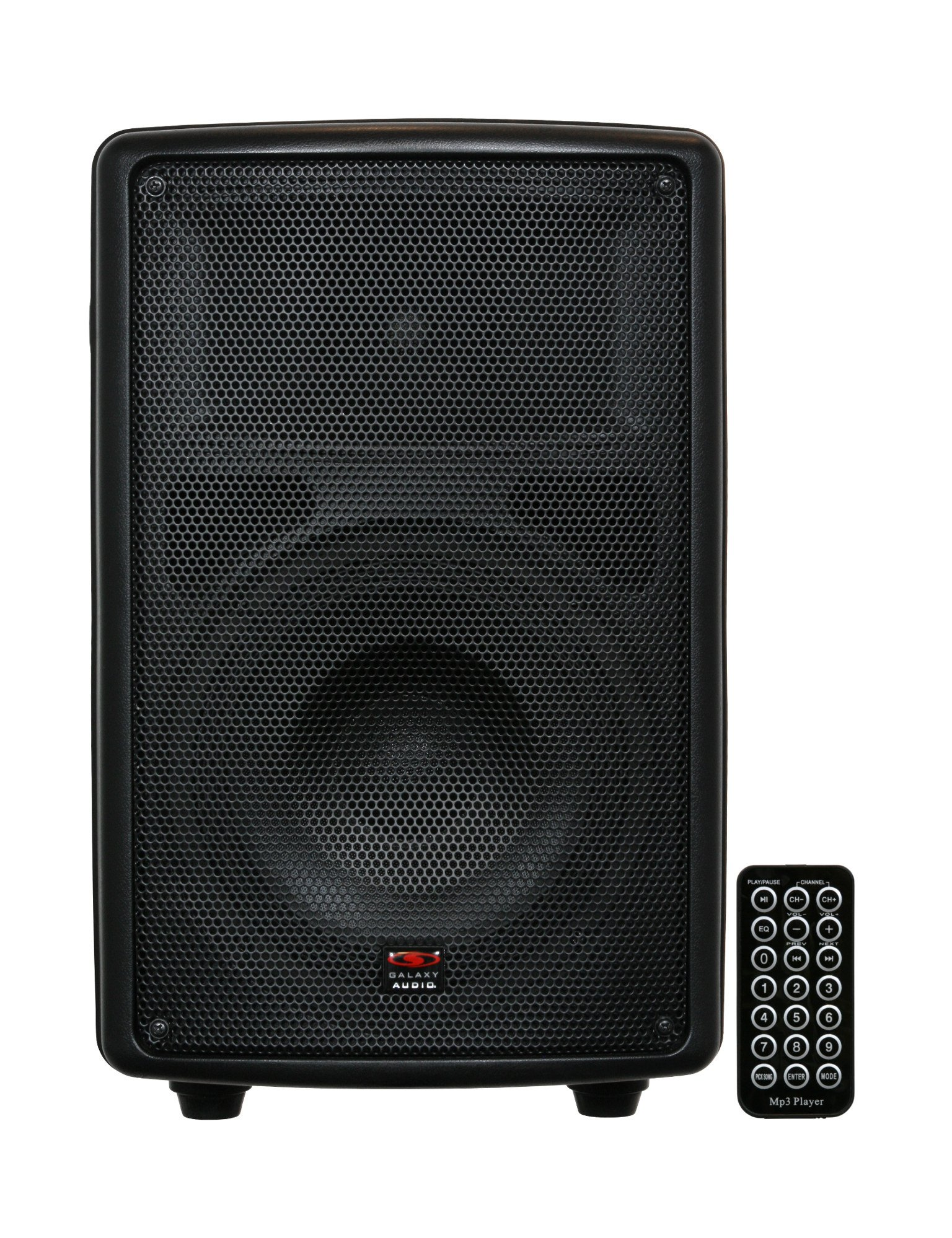 """Battery-Powered Portable Sound System with 8"""" Speaker"""