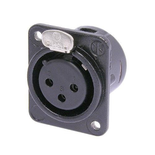 DL1 Series 3 pin Female Receptacle