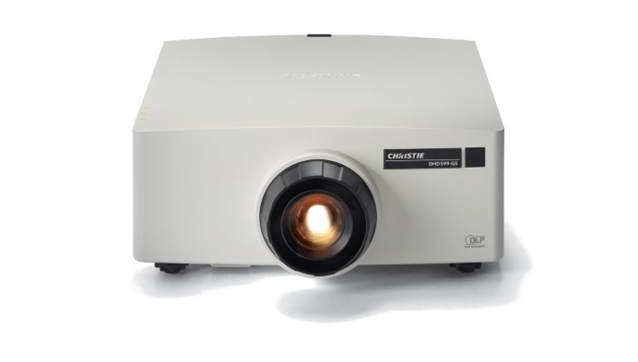 5625 Lumen DLP HD Laser Projector in White - Body Only