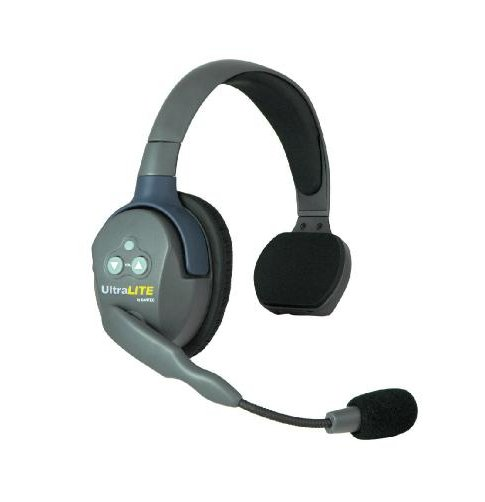 Intercom Single Earcup Headset with 270 Degree Rotating Mic Boom