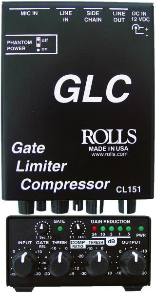 Gate/Limiter/Compressor