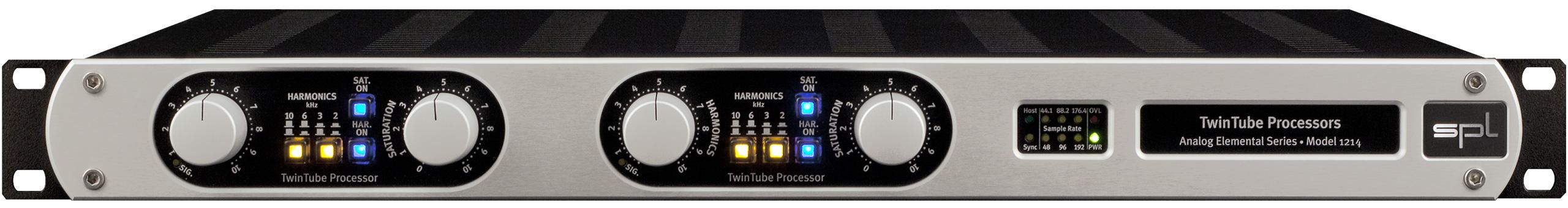 Tube Saturation and Tube Harmonics Processor with Digital Output