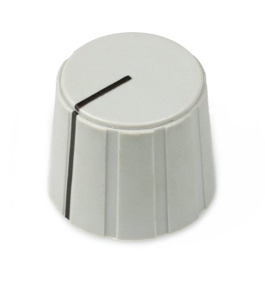 Large Grey Knob Cap for ISA430