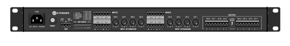 ComTech DriveCore 75W @ 8 Ohms 8-Channel Power Amp