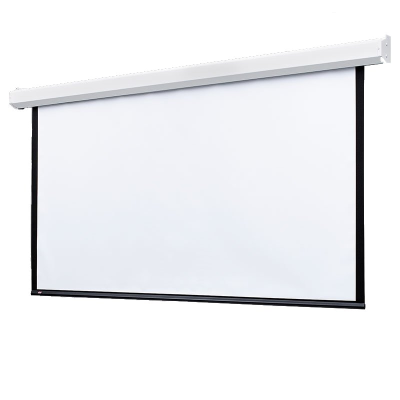"72"" x 96"" Targa Electric Screen with Matt White XT1000E Surface and Motor"