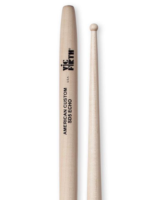 Vic Firth American Custom SD5 Echo Pair of Rock Drumsticks SD5