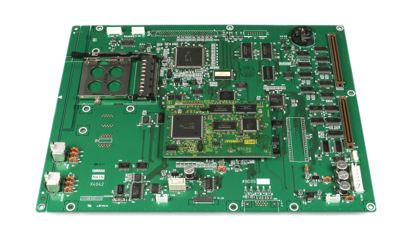 Main PCB Assembly for PM5D