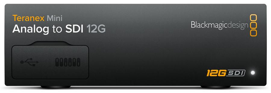 Analog Video to 12G-SDI Mini Converter