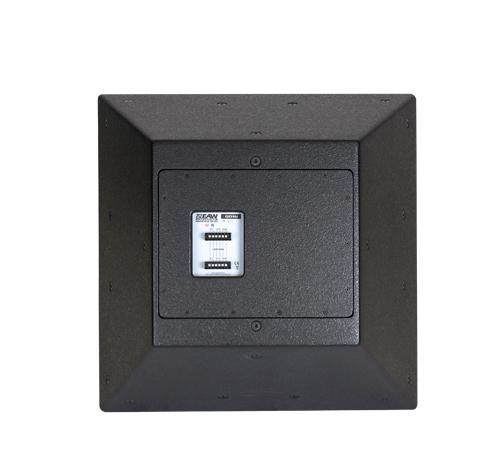 Three-Way Trapezoidal Enclosure Speaker, Black
