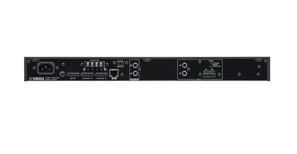 120 Watts 2-channel Amplifier with Euroblock