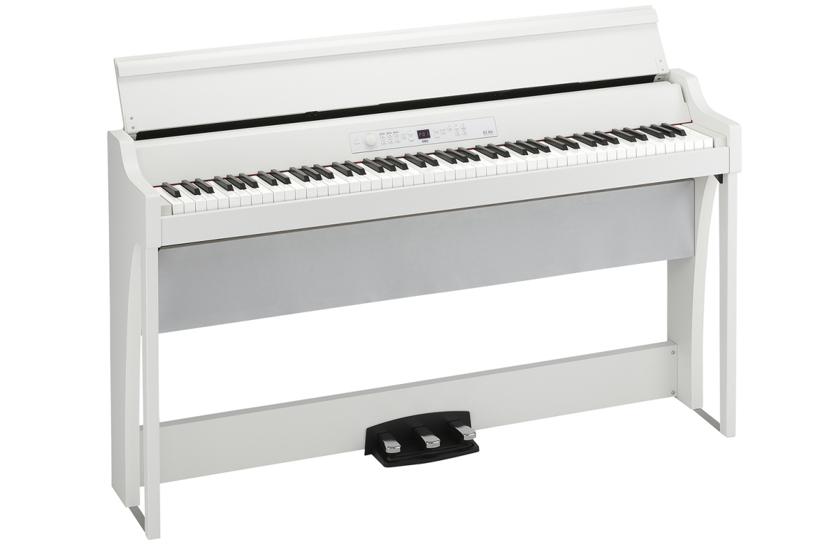 Digital Piano with Three Pedals, Bluetooth Compatible
