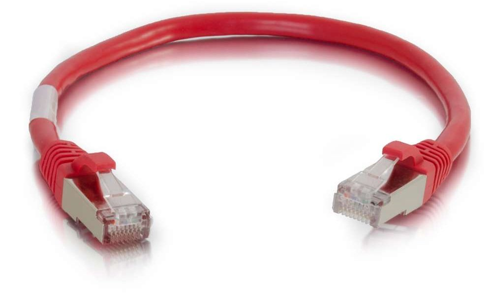 6 ft Ethernet Network Patch Cable, Red