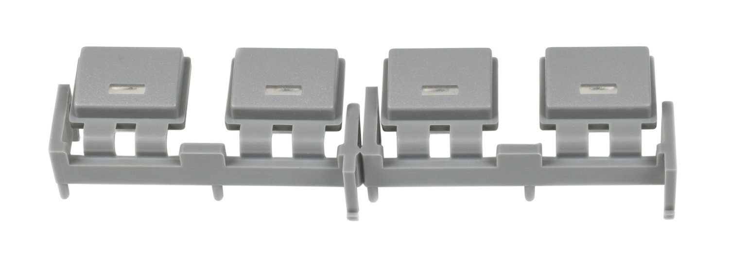 Bank of 4 Grey Buttons for M7CL
