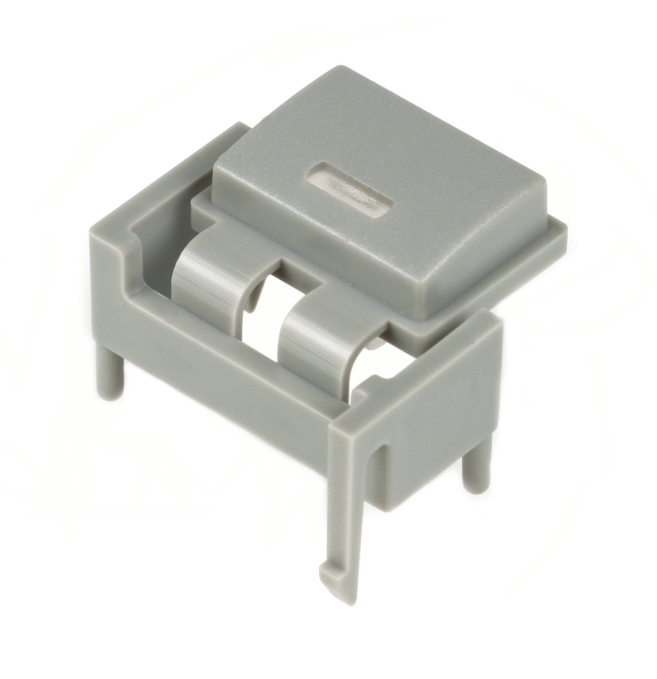 Single Square Grey Button for M7CL