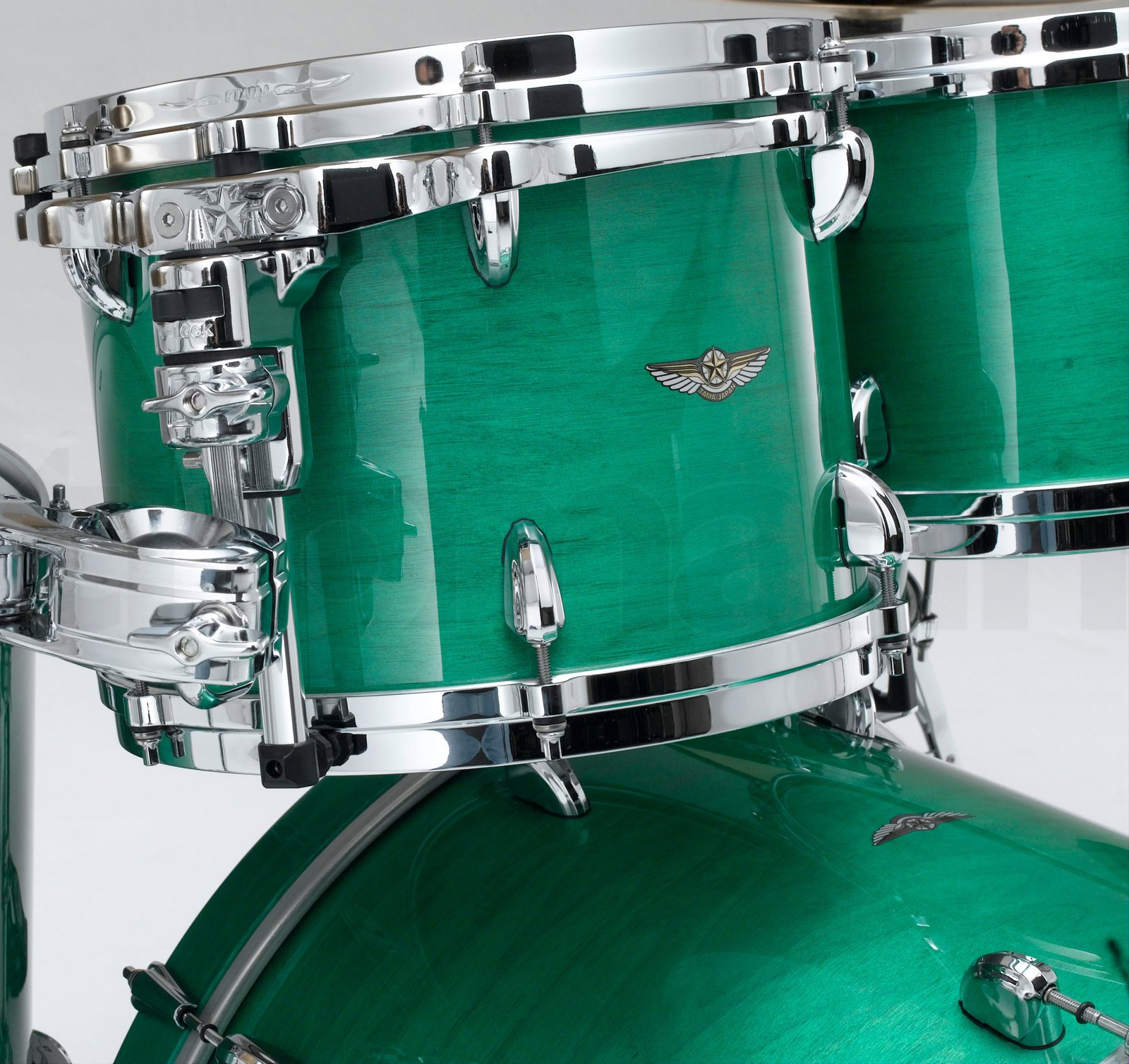 5 Piece Star Drum Walnut Shell Pack In Mint Green Mist Finish By Snare Parts Diagram Picture Pictures Our Part Tw52zsmgn