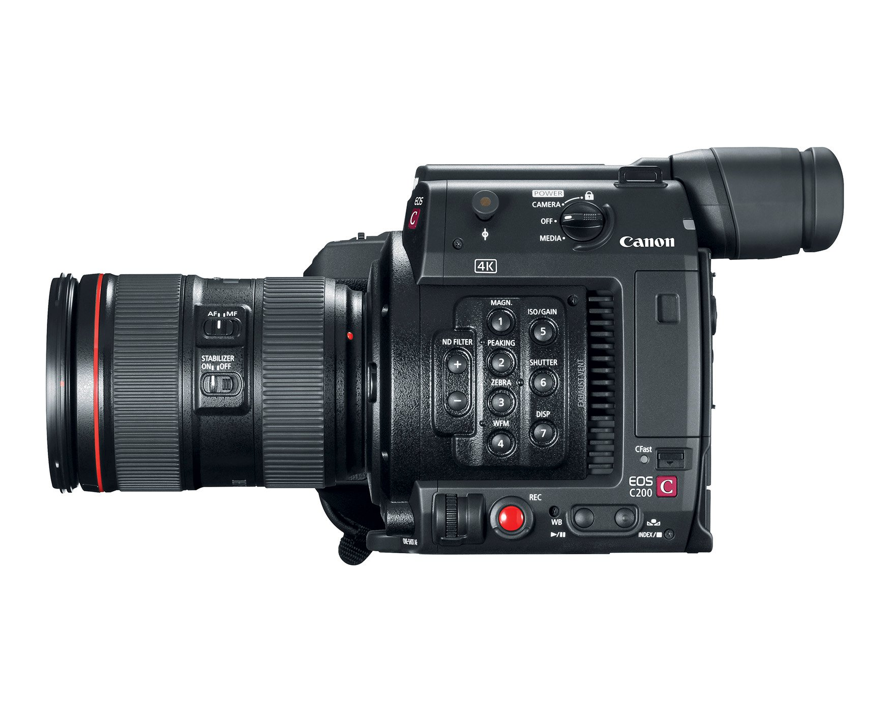 8.85MP 4K RAW Digital Cinema Production Camera with 24-105 lens