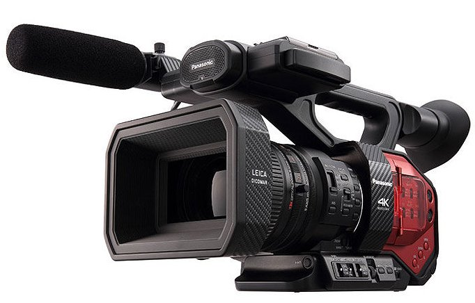 4K Camcorder with 13x Leica Zoom Lens
