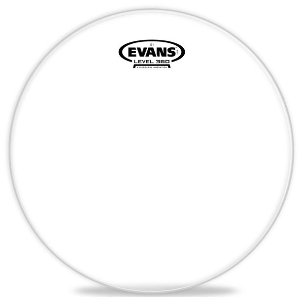 "10"" Genera G1 Clear Drum Head"