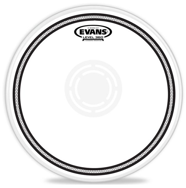 "Evans B13ECSRD 13"" EC Reverse Dot Snare Batter Drumhead B13ECSRD"