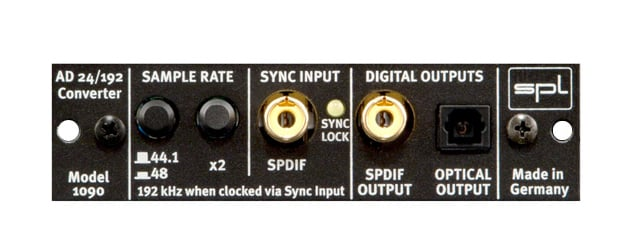 Stereo Compressor with Optional 24Bit / 192kHz AD Converter