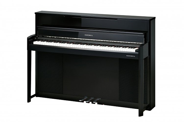 kurzweil cup1 ep compact digital upright piano ebony full compass systems. Black Bedroom Furniture Sets. Home Design Ideas