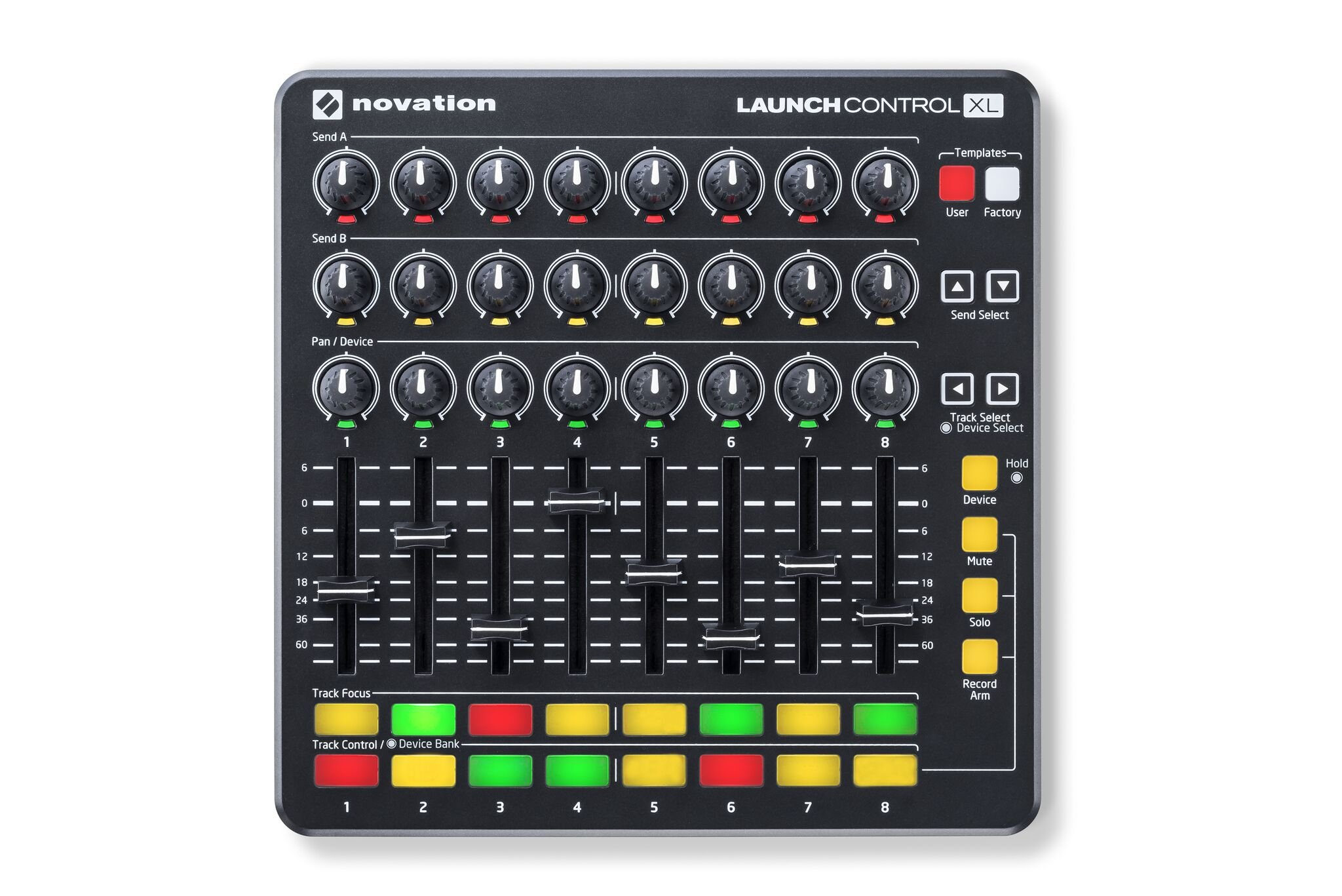 USB MIDI Controller, Black