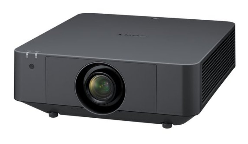 6000 Lumen WUXGA 3LCD Laser Projector in Black