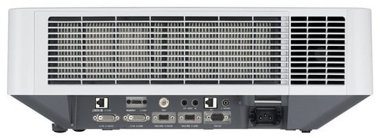 4100 Lumen WUXGA Laser Projector in White