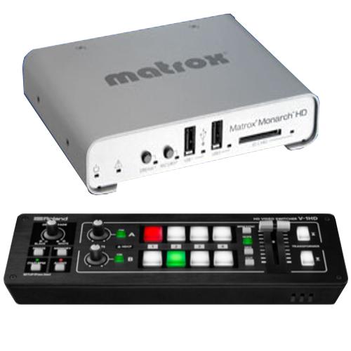 Roland V-1HD with Matrox Monarch HD