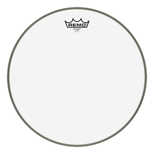 "14"" Clear Diplomat Drum Head"