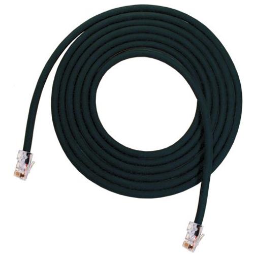 25 ft Solid Core CAT5 Cable, Neutrik Ethercon to RJ45