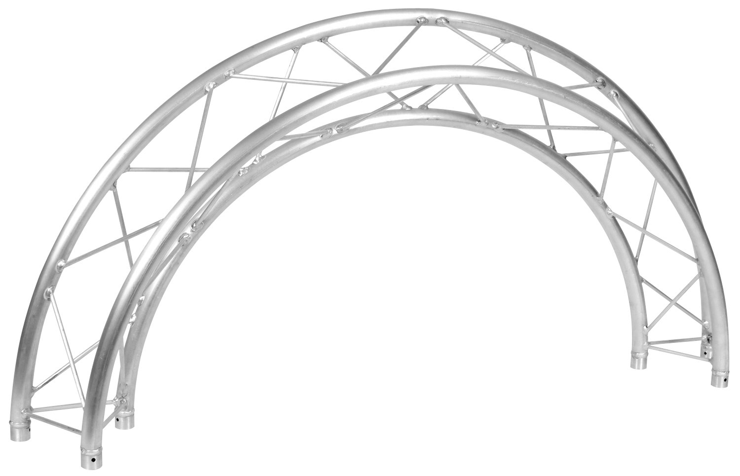 26.24 ft Triangular Circle Truss with (8) 45° Arc Segments