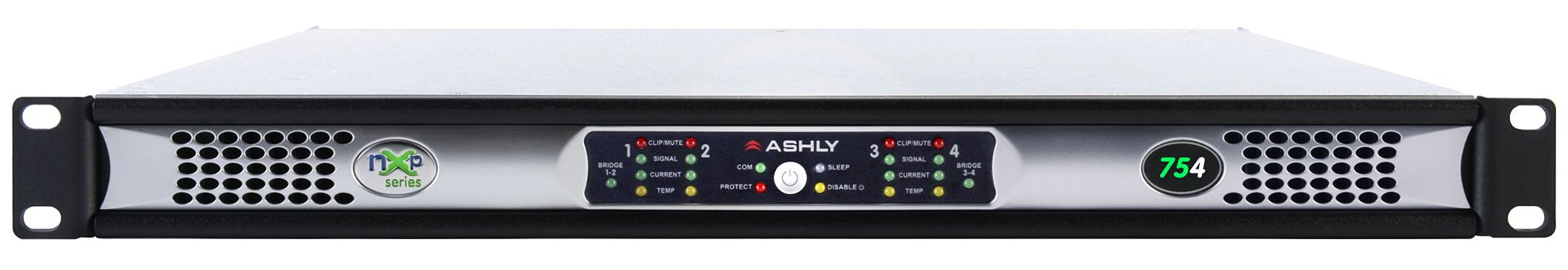 4 x 75 Watts @ 2 Ohms Network Power Amp with Protea DSP