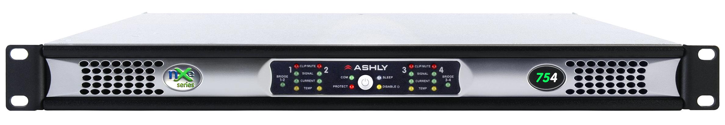 4 x 75 Watts @ 2 Ohms Network Power Amplifier