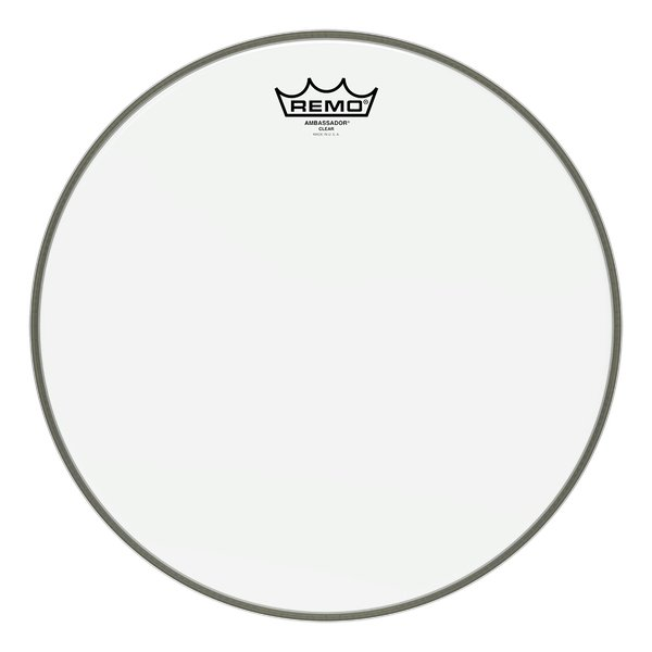 "8"" Clear Ambassador Batter Drum Head"