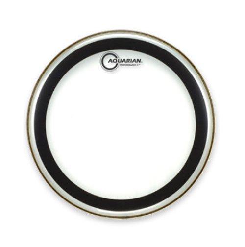 "18"" Two-Ply Clear Drum Head"