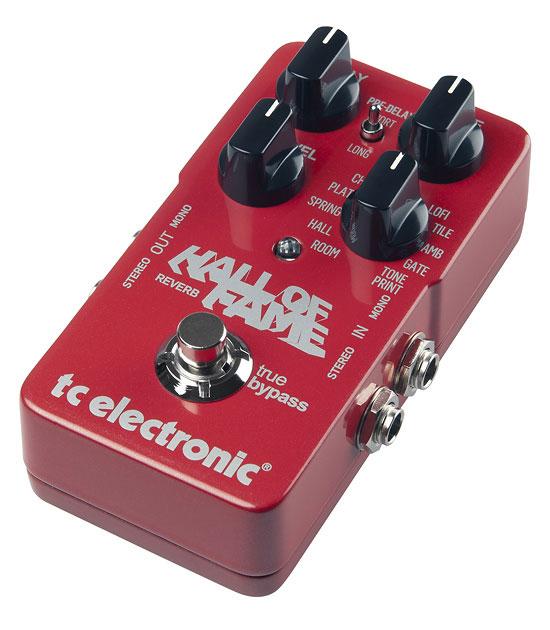 Reverb Guitar Pedal with TonePrint