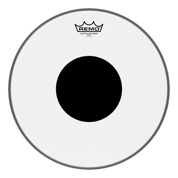"12"" Clear Controlled Sound Batter Drum Head"