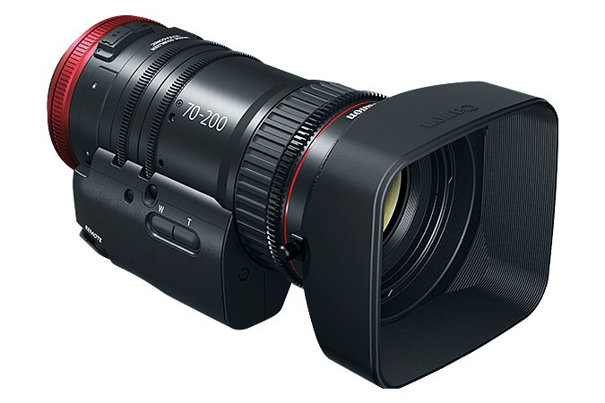 70-200mm T4.4 Compact-Servo Cine Zoom Lens with EF Mount