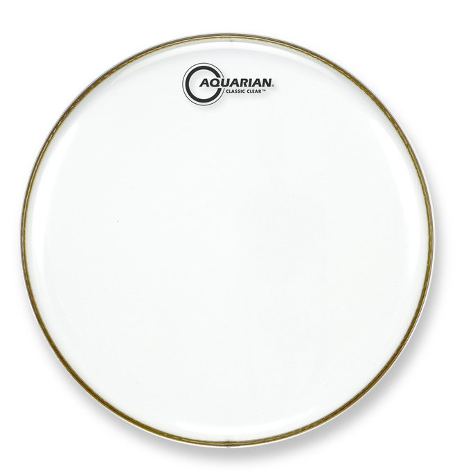 "12"" Classic Clear Drum Head"