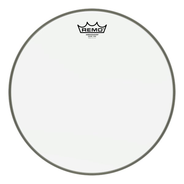 "12"" Hazy Ambassador Snare Side Drum Head"