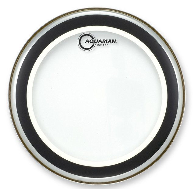 "8"" Studio-X Clear Drum Head"