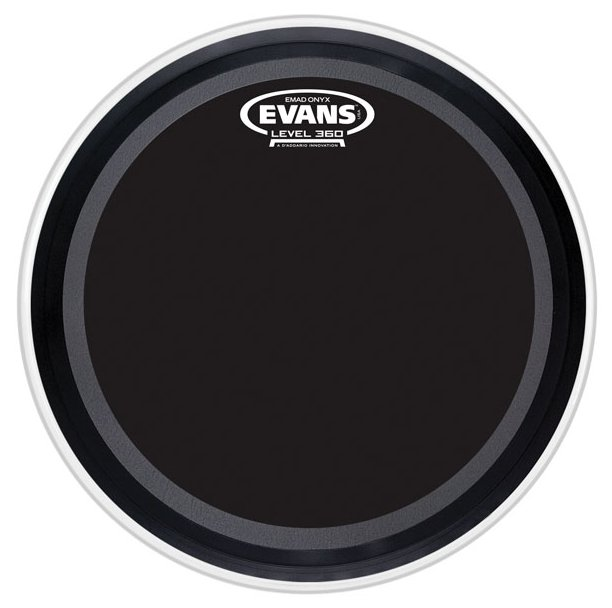"20"" EMAD Onyx Batter Bass Drum Head"