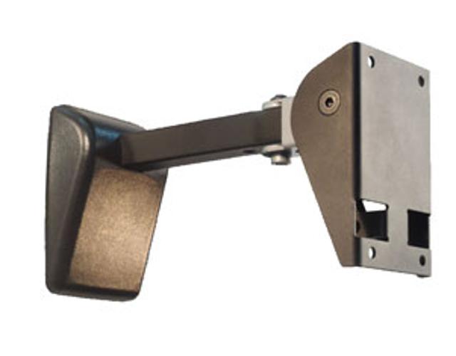 Pan & Tilt Speaker Wall Mount in Black, 120 lb Capacity