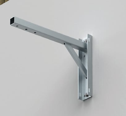 "24"" Steerable Wall Mount for Outdoor Use, Stainless Steel"
