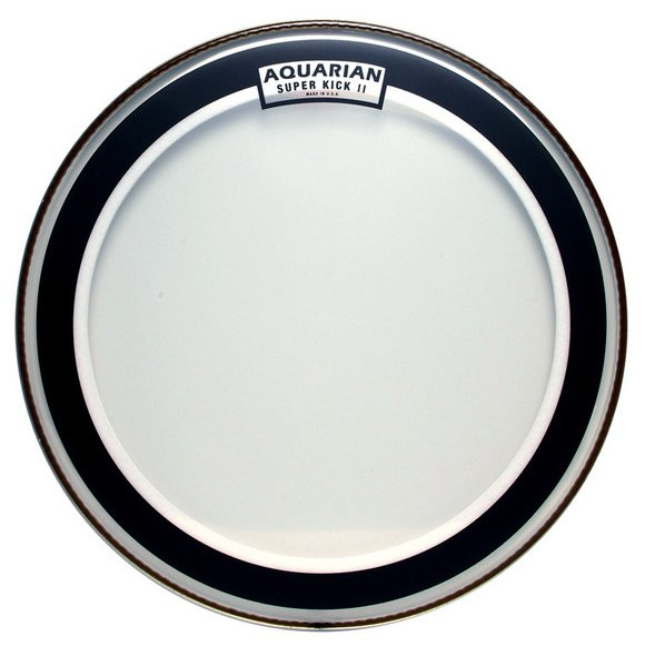 "24"" Super-Kick II Two-Ply Clear Bass Drum Head"