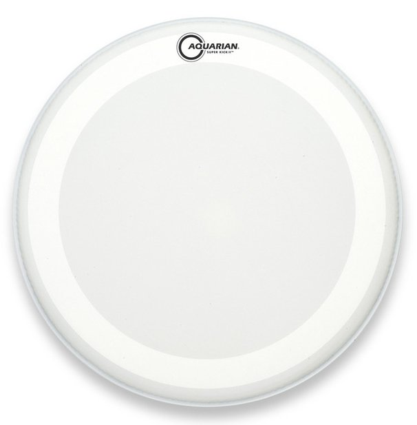 """24"""" Texture Coated Super-Kick Two-Ply Bass Drum Head"""