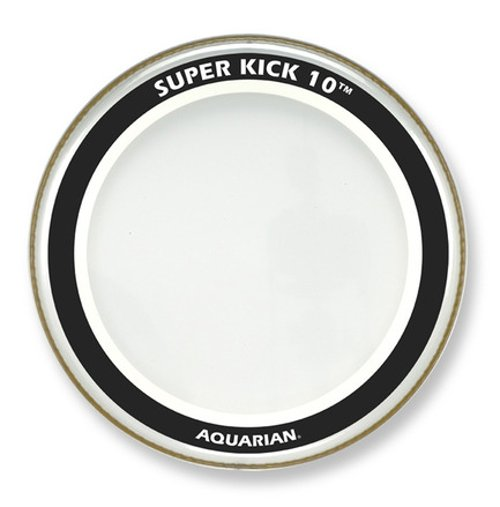 "Aquarian Drumheads SK10-20 20"" Super-Kick 10 Two-Ply Clear Bass Drum Head SK10-20"