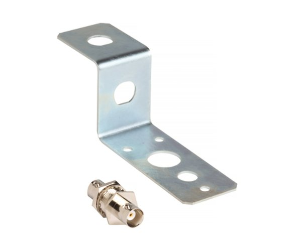 Mounting Bracket and BNC Connector for Remote Antenna Mounting