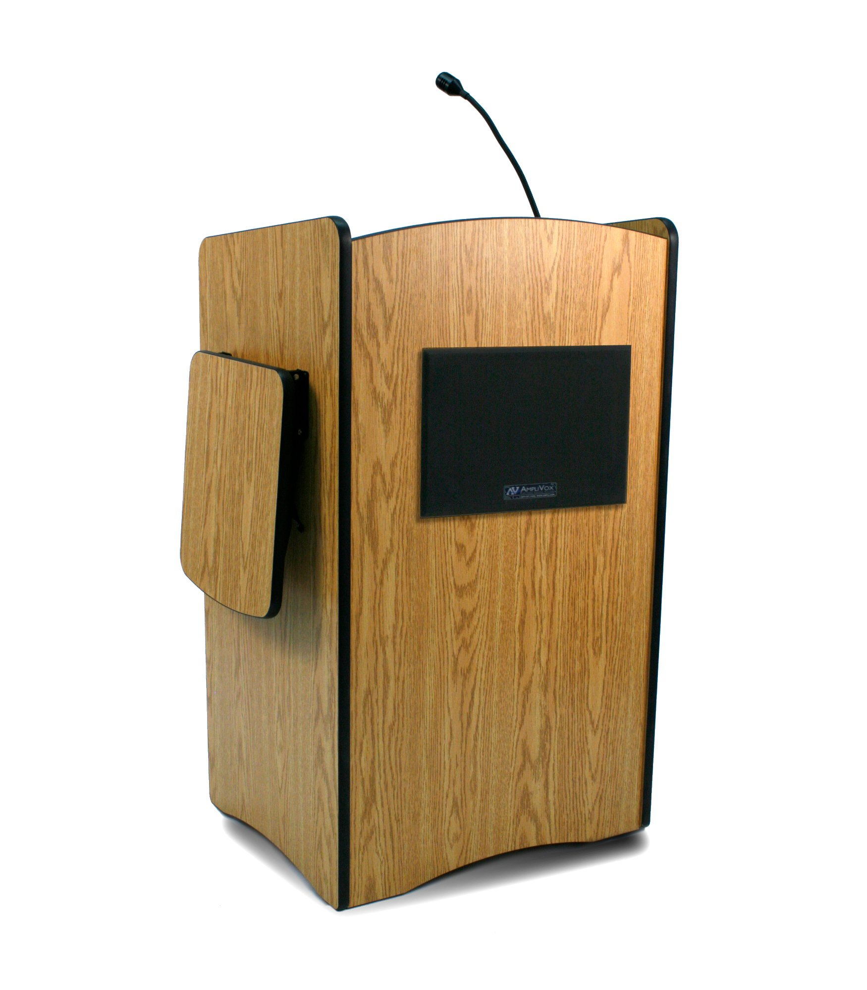 Multimedia Computer Lectern with Microphone